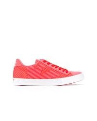 Ea7 Emporio Armani Pride Mesh Sneakers