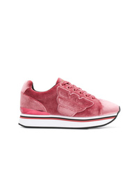 Emporio Armani Textured Sneakers