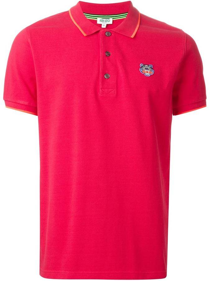 Mens Hot Pink Polo Shirts