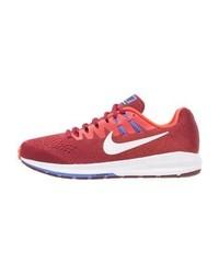 Nike Air Zoom Structure 20 Stabilty Running Shoes Team Redwhitemax Orangemedium Bluehyper Orangeblack