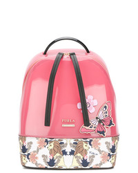 Furla Printed Butterfly Backpack