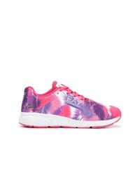 Ea7 Emporio Armani Printed Lace Up Sneakers