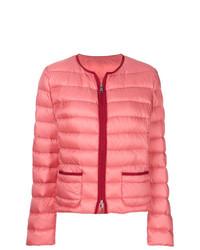 Moncler Cristal Collarless Shell Jacket