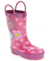 Western Chief Girls Flower Cutie Rain Boot