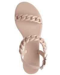 b5b51cd46b49 ... Givenchy Nea Chain Logo Jelly Sandal ...