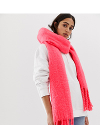 My Accessories Neon Pink Super Soft Scarf