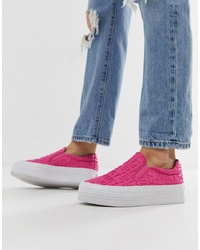 Juicy Couture Slip On Logo Trainers