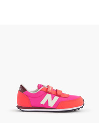 New Balance Kids For Crewcuts Glow In The Dark Ke410 Sneakers