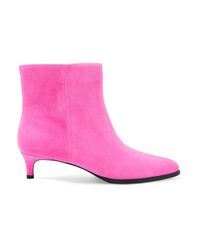 3.1 Phillip Lim Agatha Suede Ankle Boots