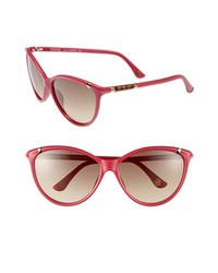 MICHAEL Michael Kors Michl Michl Kors Camila 60mm Sunglasses Hot Pink One Size