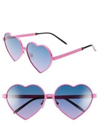 Wildfox Couture Wildfox Lolita 59mm Heart Sunglasses
