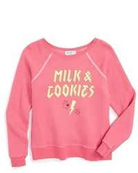 Wildfox Couture Girls Wildfox Milk Cookies Sweater