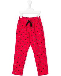 Kenzo Kids Eye Print Trousers