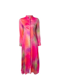 EACH X OTHER Tie Dye Shirt Dress