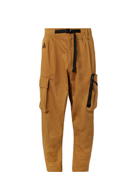 Nike Acg Tapered Cotton Blend Twill Cargo Trousers