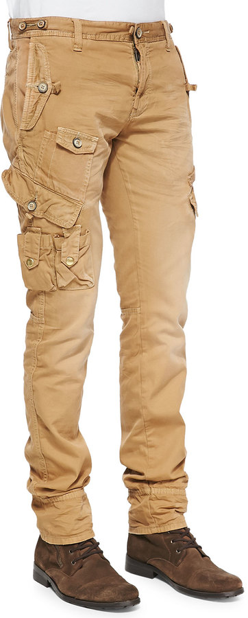 PRPS Savoy Khaki Safari Cargo Pants Beige | Where to buy & how to wear