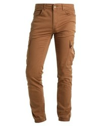 Redefined Rebel Ray Cargo Trousers Dark Sand