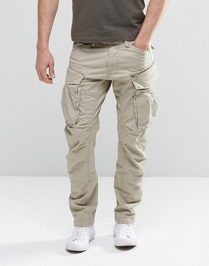 Kendte G Star Rovic Zip Cargo Pants 3d Tapered, £103 | Asos | Lookastic UK UP-67