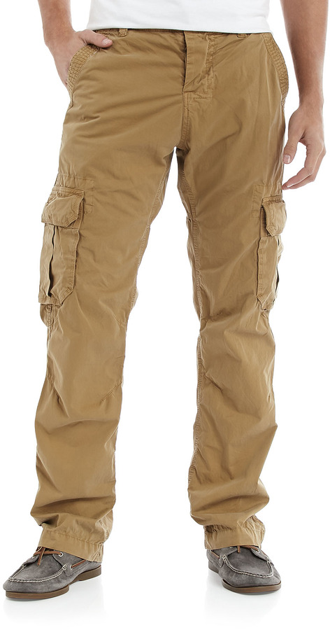 Superdry Soft Twill Cargo Pants Dulled Khaki | Where to buy & how ...