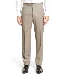 Khaki Check Dress Pants