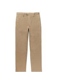 Acne Studios Ayan Slim Fit Cotton Blend Trousers