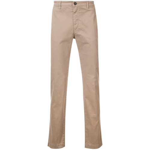 Massimo Alba Classic Slim Fit Chinos