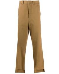 Maison Flaneur Cutaway Hem Trousers