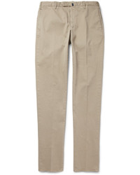 Incotex Four Season Slim Fit Cotton Blend Chinos