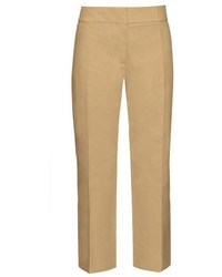 Marni Mid Rise Cropped Cotton Chino Trousers
