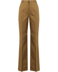 RED Valentino Redvalentino High Rise Flared Chino Trousers