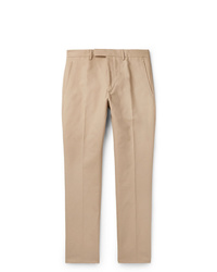 Berluti Slim Fit Tapered Cotton Twill Chinos