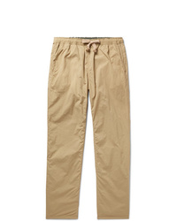 Remi Relief Slim Fit Tapered Reversible Pleated Shell Drawstring Trousers