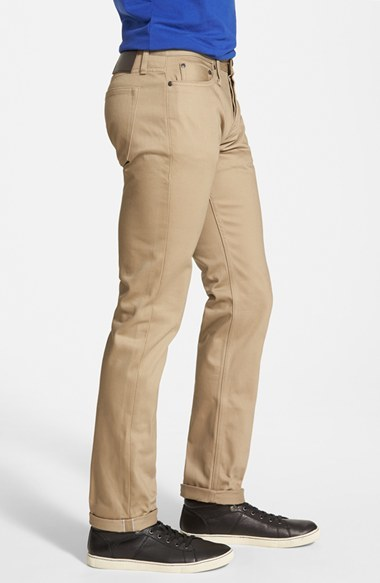 fa5b36c4d7 The Unbranded Brand Ub208 Tapered Slim Fit Selvedge Chinos
