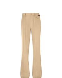 Balenciaga Wide Leg Twill Trousers