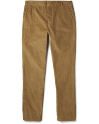 Band Of Outsiders Slim Fit Cotton Corduroy Trousers