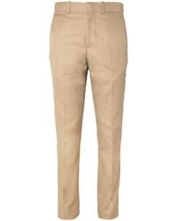 Alexander McQueen Slim Fit Cotton Chinos