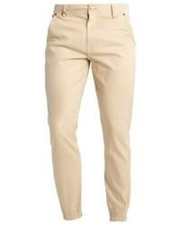Jogger jeans tapered fit khaki medium 3775558