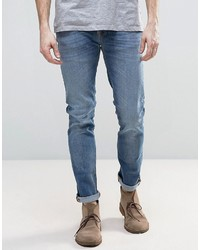 Nudie Jeans Nudie Grimtim Slim Jeans Best Coast Blues