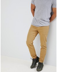 ASOS DESIGN Slim Jeans In Stone