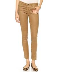 AG Jeans Ag The Legging Ankle Super Skinny Leatherette Jeans