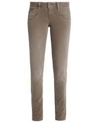 Alexa Slim Fit Jeans Dirty Beige