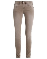 Clara Slim Fit Jeans Dirty Beige