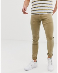 G Star D Staq Skinny Fit Jeans In Stone