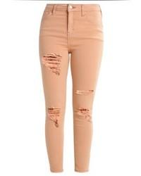 Topshop Jamie Jeans Skinny Fit Dustypink