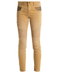 Mos Mosh Ozbone Slim Fit Jeans Honey