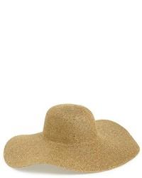 Phase 3 Metallic Floppy Straw Hat