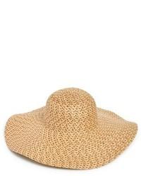 Phase 3 Woven Straw Floppy Hat