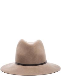 Janessa Leone Lola Wool Felt Hat