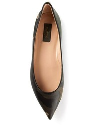 Leather ballerina shoes original 1623741