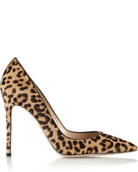 Leopard Calf Hair Pumps
